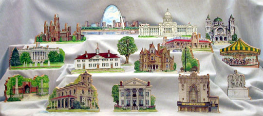 Collection of our Collectable Buildings