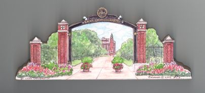 St. Louis University Gate Building